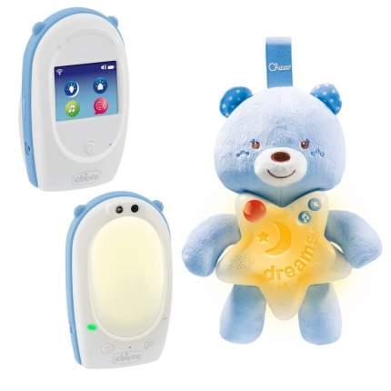Подарочный набор для мальчика Chicco First Dreams радионяня + мишка
