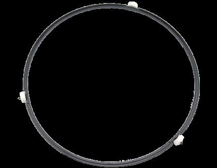 Пластиковое кольцо с роликами A290D5G00XN для микроволновых печей Panasonic