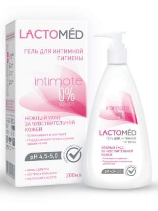 Гель для интимной гигиены LACTOMED нежный уход за чувствительной кожей 200 мл