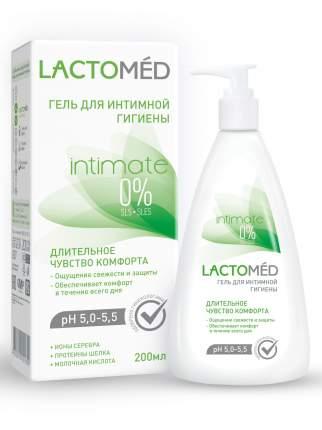 Гель для интимной гигиены LACTOMED длительное чувство комфорта 200 мл