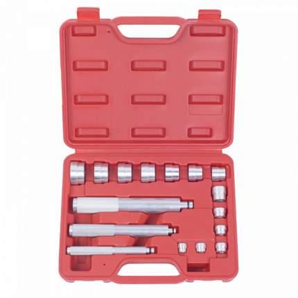 МАСТАК Набор оправок алюминиевых для подшипников, 10-32 мм, кейс, 16 предметов 100-20017C