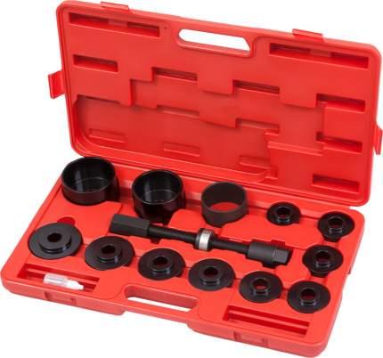 Набор оправок для монтажа ступичных подшипников, кейс, 14 предметов 100-30014C МАСТАК