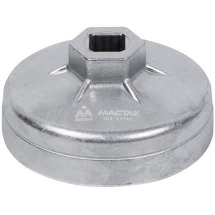 МАСТАК Съёмник масляных фильтров, 74 мм, 15 граней, торцевой 103-44145