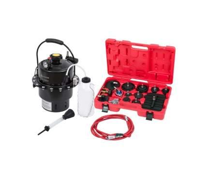 Набор приспособлений для замены тормозной жидкости, 6 л, комплект крышек адаптеров, 15 пре