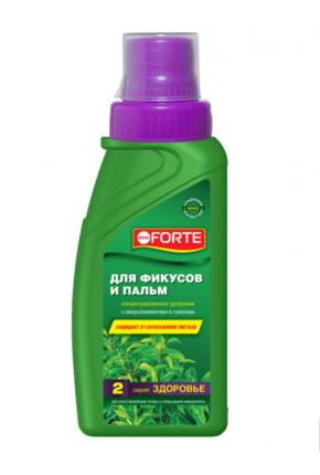 Органоминеральное удобрение Bona Forte для фикусов и пальм BF21060131 285 мл