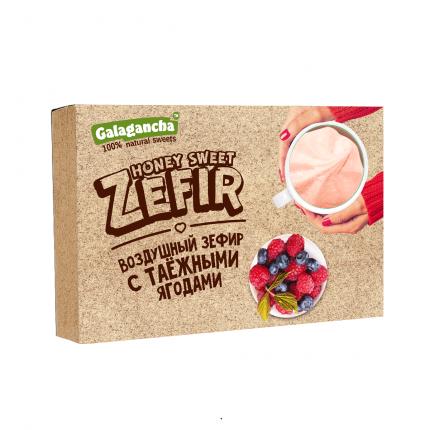 Зефир Galagancha с таёжными ягодами, 140г