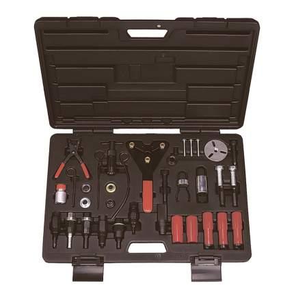 МАСТАК Набор для обслуживания компрессора кондиционера, кейс, 37 предмета 105-30037C
