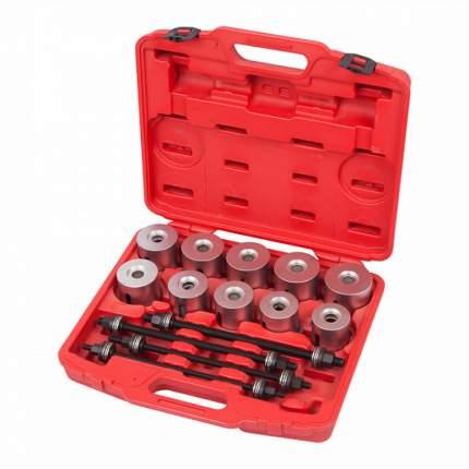 Набор оправок для монтажа сайлентблоков, 34-82 мм, кейс, 24 предмета 110-20024C МАСТАК