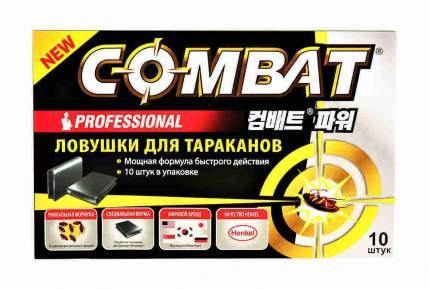 Ловушки для тараканов Combat Super Bait Инсектицид 10 шт 1уп