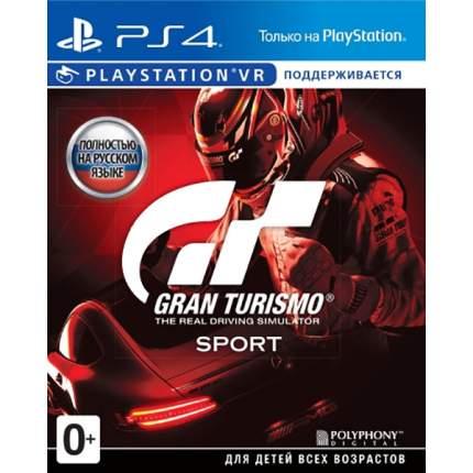 Игра Gran Turismo Sport (Хиты PS) для PlayStation 4