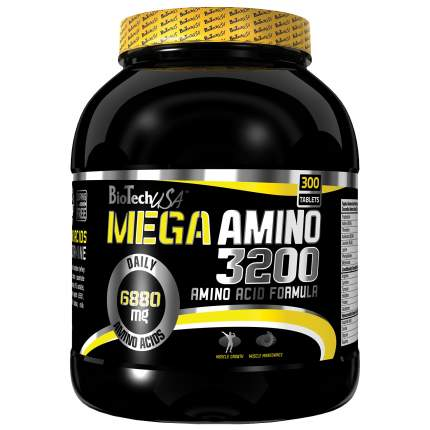 BioTech Mega Amino 100 таблеток без вкуса