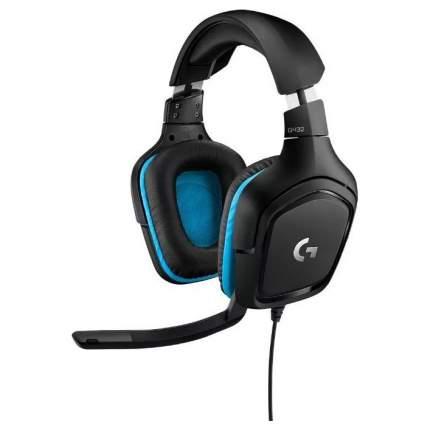 Игровая гарнитура Logitech G432 Black/Blue