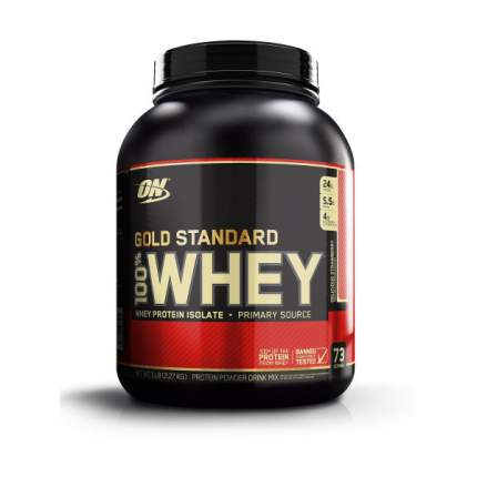 Протеин Optimum Nutrition 100 % Whey Gold Standard 2270 г Delicious Strawberry