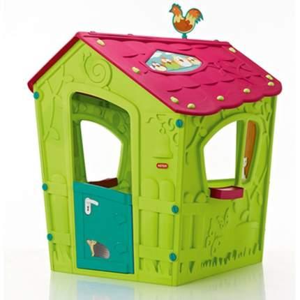 Игровой домик Keter Magic Волшебный с петушком зелено-бирюзовый