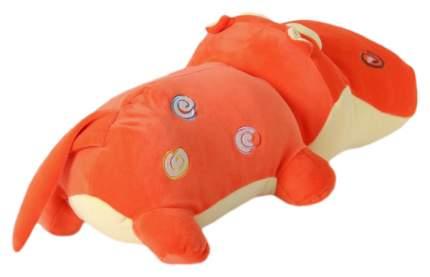 """Мягкая игрушка """"Весёлый бегемот"""", цвет оранжевый Sima-Land"""