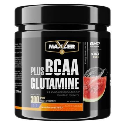 BCAA Plus Glutamine Maxler, 300 г, watermelon
