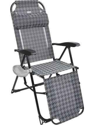 Кресло-шезлонг Nika КШ3 КШ3/6 серый