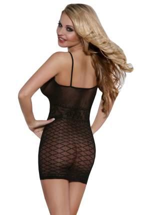 Платье-сетка Sunspice с узором горизонтальные ромбы Код: 82797