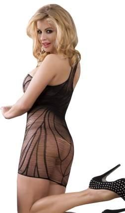 Платье-сетка Sunspice на одно плечо H1042-VI3