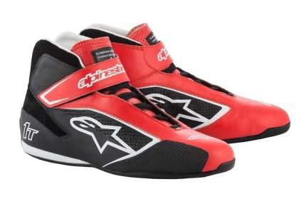Ботинки для автоспорта TECH-1 T,FIA,красный/чёрный/белый,45,5 Alpinestars 2710019_312_12