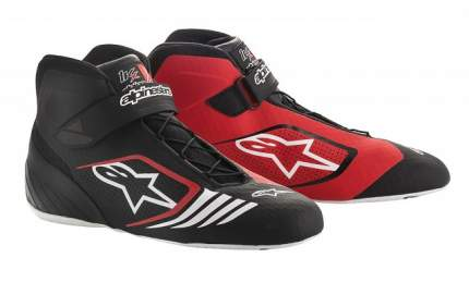 Ботинки для картинга TECH 1-KX, чёрный/красный/белый, 44 (11) Alpinestars 2712118_132_11