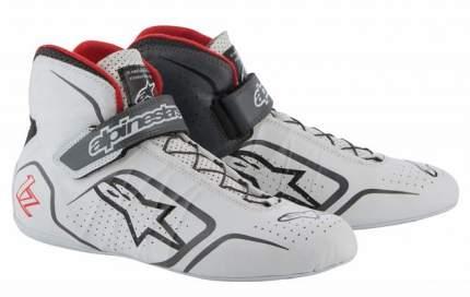 Ботинки для автоспорта TECH-1 Z, FIA, белый/чёрный/красный, 42 Alpinestars 2715015_209_9