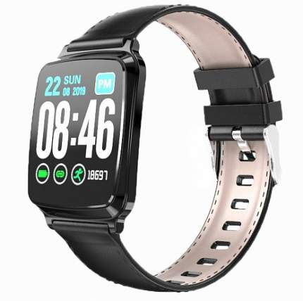 Часы GSMIN WP10  Black Leather