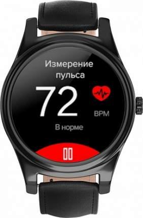 Часы GSMIN WP5  Black Leather