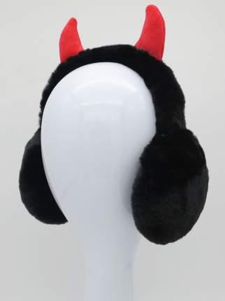 Наушники утепленные Рожки чертика MM07878 черные