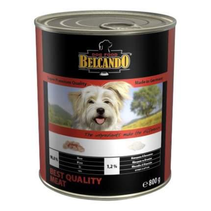 Консервы для собак BELCANDO Super Premium, отборное мясо, 800г