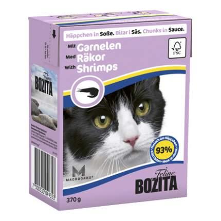 Влажный корм для кошек BOZITA feline, креветки, 370 г