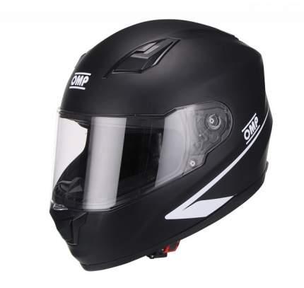 Шлем для картинга закрытый Circuit EVO, матовый чёрный, ECE 22,05, M OMP Racing SC613170M