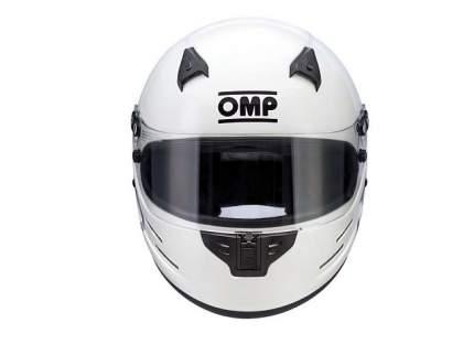Шлем для автоспорта GP8 EVO закрытый, FIA/SNELL, HANS, белый, XXL OMP Racing SC785E020XXL