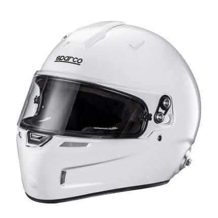 Шлем для автоспорта AIR PRO RF-5W закрытый, FIA, HANS, белый, XS (53-54) Sparco 0033450XS