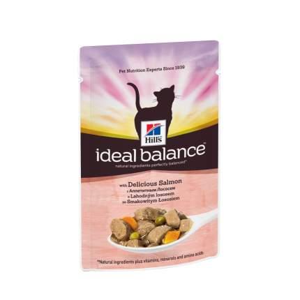 Влажный корм для кошек Hill's Ideal Balance, лосось, 85г