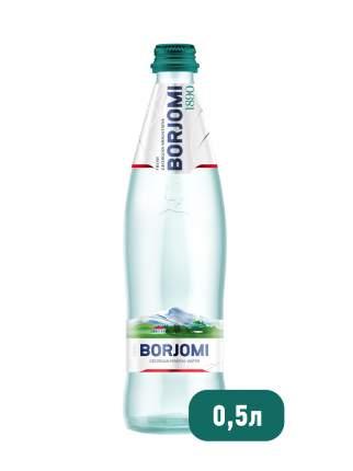 Вода минеральная Borjomi газированная стекло 0.5 л