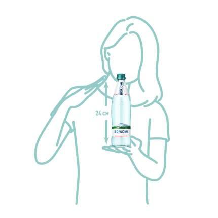 Borjomi вода природная минеральная; по 0;5 л в стекле