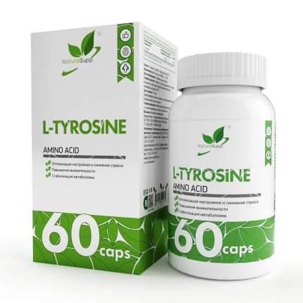 L-Tyrosine NaturalSupp, 60 капсул