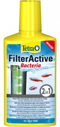 Бактерии для аквариума Tetra FilterActive 100мл
