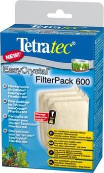 Картридж для внутреннего фильтра Tetra для EasyCrystal/FilterBox 600, без угля, 3 шт 220 г