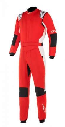 Комбинезон для автоспорта GP TECH v2, FIA, красный/белый, р-р 50 Alpinestars 3354019_32_50