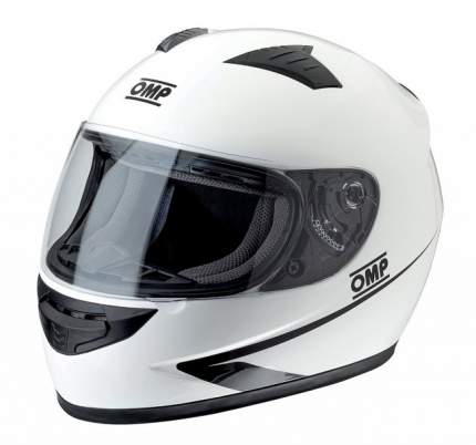 Шлем для картинга закрытый CIRCUIT MY2017, белый, ECE 22,05, р-р XS OMP Racing SC611E020XS