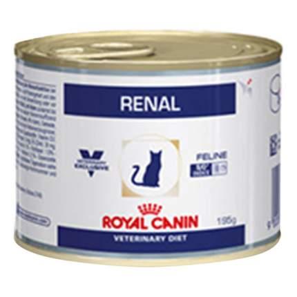 Консервы для кошек ROYAL CANIN Vet Diet Renal, курица, 195г