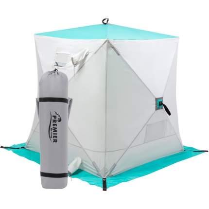 Палатка зимняя Куб 1,5х1,5 biruza/gray PREMIER (PR-ISC-150BG)