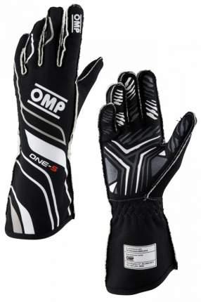 Перчатки для автоспорта ONE-S my2020, FIA 8856-2018, чёрные, р-р XL OMP Racing IB/770/N/XL