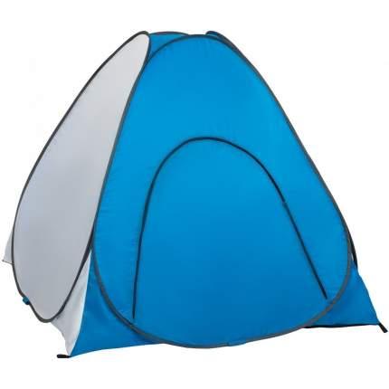 Палатка зимняя автомат 1,8*1,8 бело-голубая дно на молнии (PR-D-TNC-038-1.8)