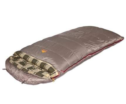 Мешок спальный SIBERIA Wide Plus серый левый (9254.01072)