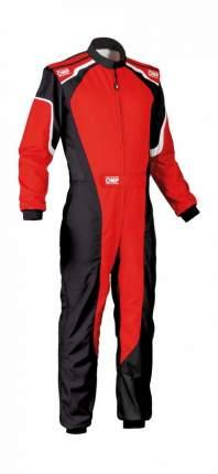 Комбинезон для картинга детский KS-3 my2019,CIK,красный/чёрный,130 OMP Racing KK01727C0731