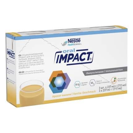 Смесь жидкая Impact® Oral с ароматом ванили 3 х 237 мл