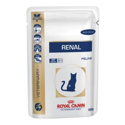 Влажный корм для кошек ROYAL CANIN Vet Diet Renal, курица, 85г